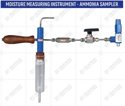 MOISTURE MEASURING INSTRUMENT - AMMONIA SAMPLER