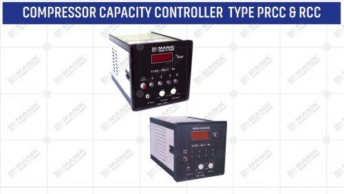 COMPRESSOR CAPACITY CONTROLLER TYPE PRCC & RCC