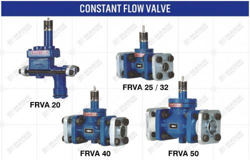 CONSTANT FLOW VALVE