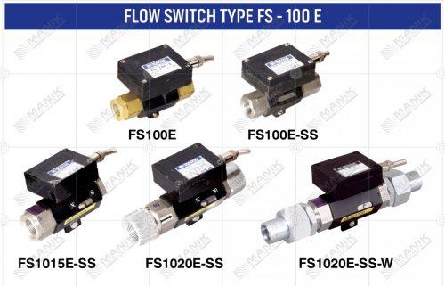 FLOW SWITCH TYPE FS - 100 E