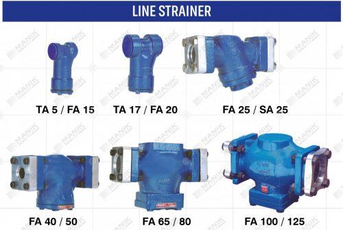 LINE STRAINER