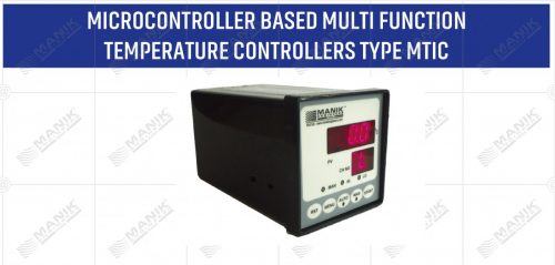 MICROCONTROLLER BASED MULTI FUNCTION TEMPERATURE CONTROLLERS TYPE MTIC
