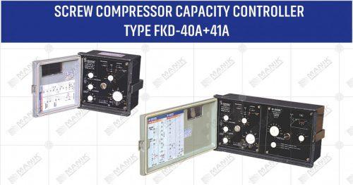 SCREW COMPRESSOR CAPACITY CONTROLLER TYPE FKD-40A+41A