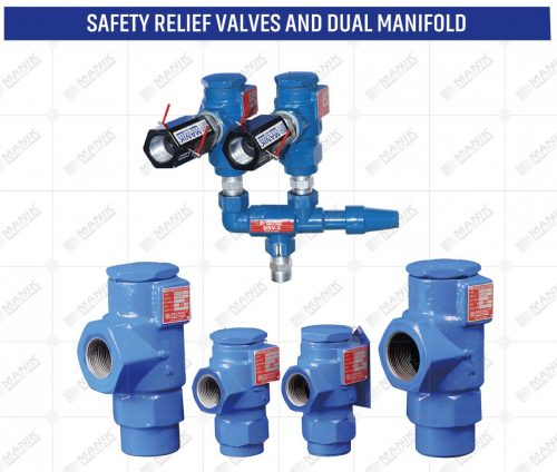 SAFETY RELIEF VALVES AND DUAL MANIFOLD