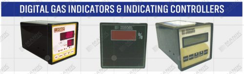 DIGITAL GAS INDICATORS & INDICATING CONTROLLERS